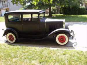 1931 Chevy restorod